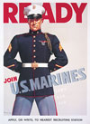 Ready -Join U.S. Marines notecards
