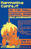 WPA Poster- Harmonica Contest