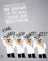 WPA poster- Barbershop Quartet