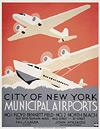WPA poster- Municipal Airports